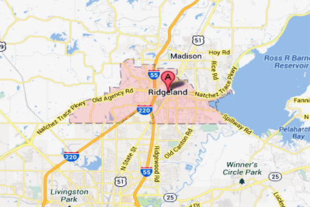 Where is the City of Ridgeland? Right here!
