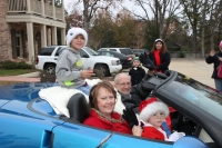 Ridgeland Christmas Parade with Mayor McGee & family
